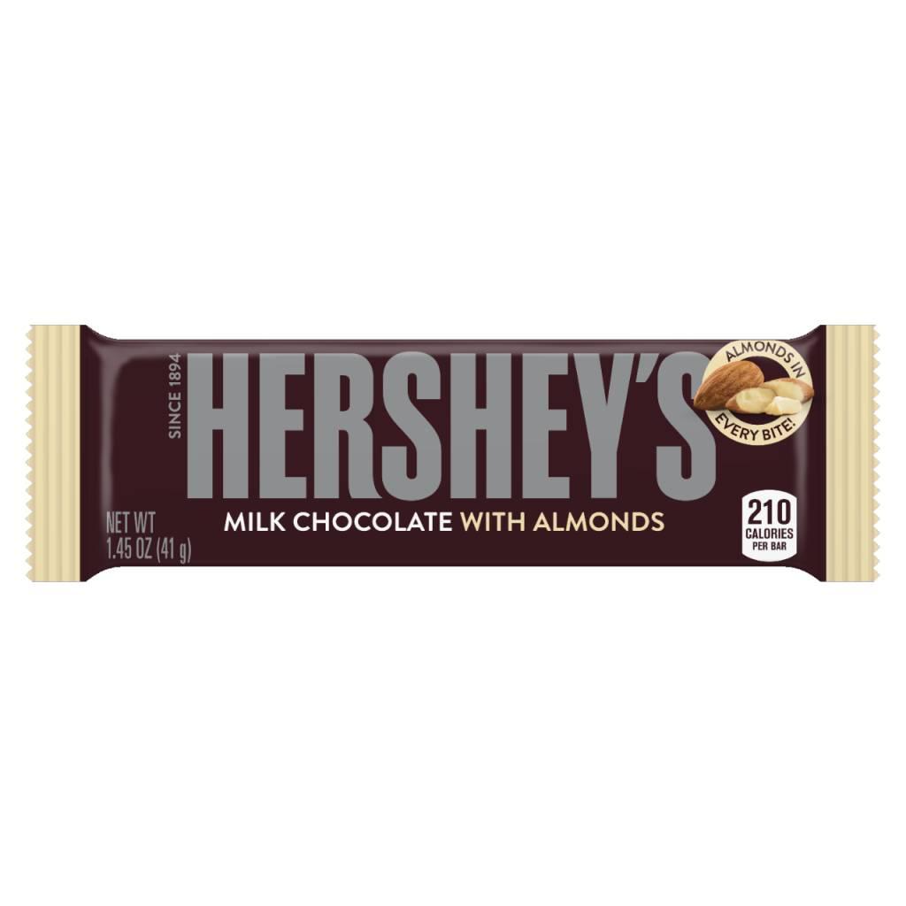 HERSHEY FOODS Hershey Almond, 36ct. Box