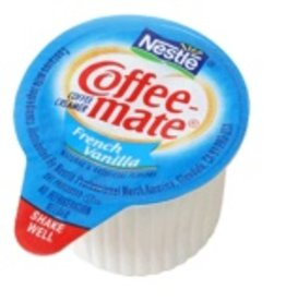 CoffeeMate Creamer, Liquid French Vanilla (CoffeeMate) 180ct. Box