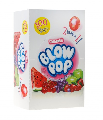 Blow Pops, Charms Assorted 100ct. Box