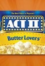 CONAGRA MICROWAVE POPCORN Act II Popcorn, Butter Lovers 36ct. Case