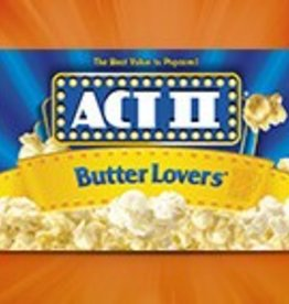 CONAGRA MICROWAVE POPCORN Act II Popcorn, Butter Lovers 36 ct. Case