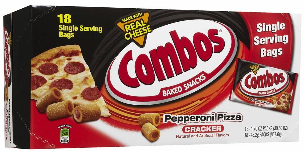 Combos, Pepperoni Pizza 18ct. Box