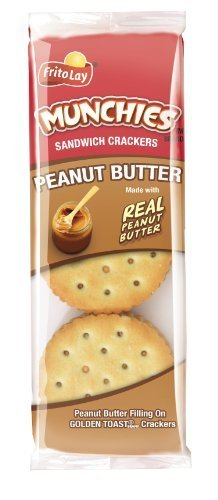 Crackers, Munchies PB on Toasty Cracker 8ct. Box