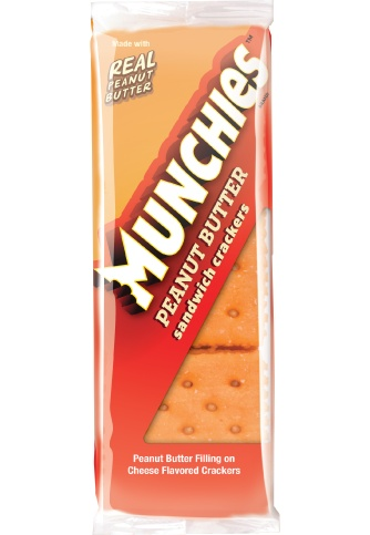 Crackers, Munchies Peanut Butter Cracker 8ct. Box