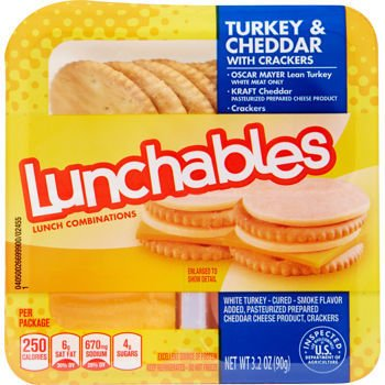 Lunchables, Turkey & Cheddar