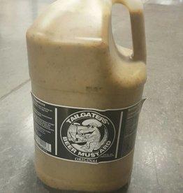 Tailgaters Beer Mustard Original 1 Gallon