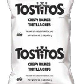 FRITO LAY Tostitos Rounds, 16oz. Bag