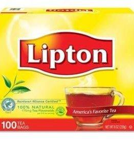 Tea, Lipton Tea Bags 100ct. Box