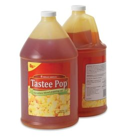 Popping Oil, Tastee Pop Sign. Blend 1 Gallon