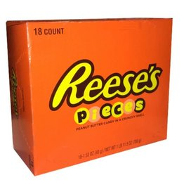 HERSHEY FOODS Reese Pieces, 18ct. Box