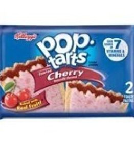 KELLOGG/KEEBLER COOKIE&CRACKER Pop Tarts, Frosted Cherry 6ct. Box
