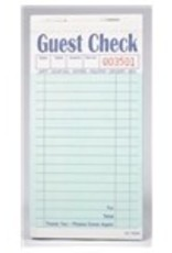 ROYAL PAPER PRODUCTS INC Guest Checks, 2-PT 15-Line Carbonless Green Booked 10/50ct Books