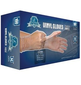 Empress Gloves, Powder Free Vinyl, Medium 100ct. Box