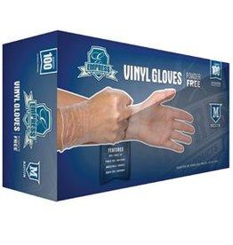 Empress Gloves, Powder Free Vinyl, Medium 100ct. Box