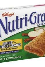 Kellogg's Nutri-Grain, Apple Cinnamon Cereal Bar 8ct. Box