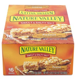 GENERAL MILLS GARDETTO'S Nature Valley, Sweet & Salty Peanut Bar 16ct. Box