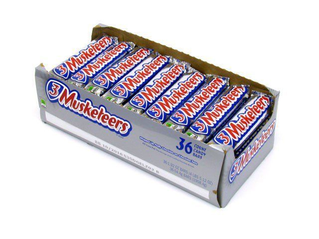 3 Musketeers, 36ct. Box