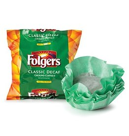 Procter & Gamble Folgers Filter Pack Decaf, (6122) 40/.9oz. Case