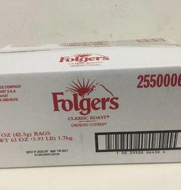 Procter & Gamble Folgers Regular 42/1.5oz Filter Packs Case