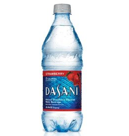 Dasani Flavored Water Strawberry 24/20oz. Case