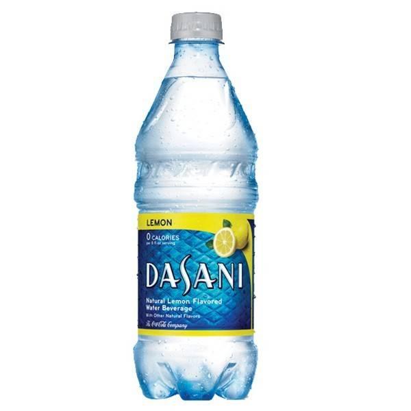 Dasani Dasani Flavored Water Lemon 24/20oz. Case