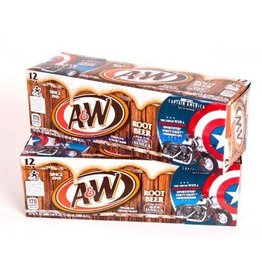 A&W Rootbeer, 24/12oz.  Case
