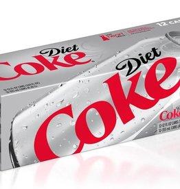 COCA COLA USA Diet Coke, 24/12oz. Case