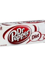 PEPSI COLA CORP Diet Dr. Pepper, 24/12oz. Case