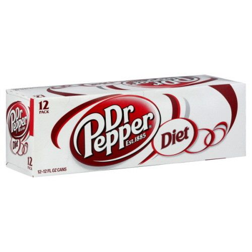 Diet Dr. Pepper, 24/12oz. Case