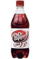 PEPSI COLA CORP Diet Dr. Pepper, 24/20oz. Case