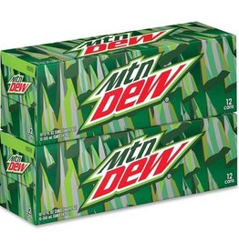 Mountain Dew, 24/12oz. Case