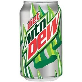 PEPSI COLA CORP Diet Mountain Dew 24/12oz. Case