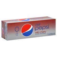 Diet Wild Cherry Pepsi, 24/12oz. Case
