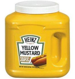Mustard, Heinz Yellow #10 Plastic Jug