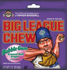 FORD GUM Big League Chew, Grape 12ct. Box