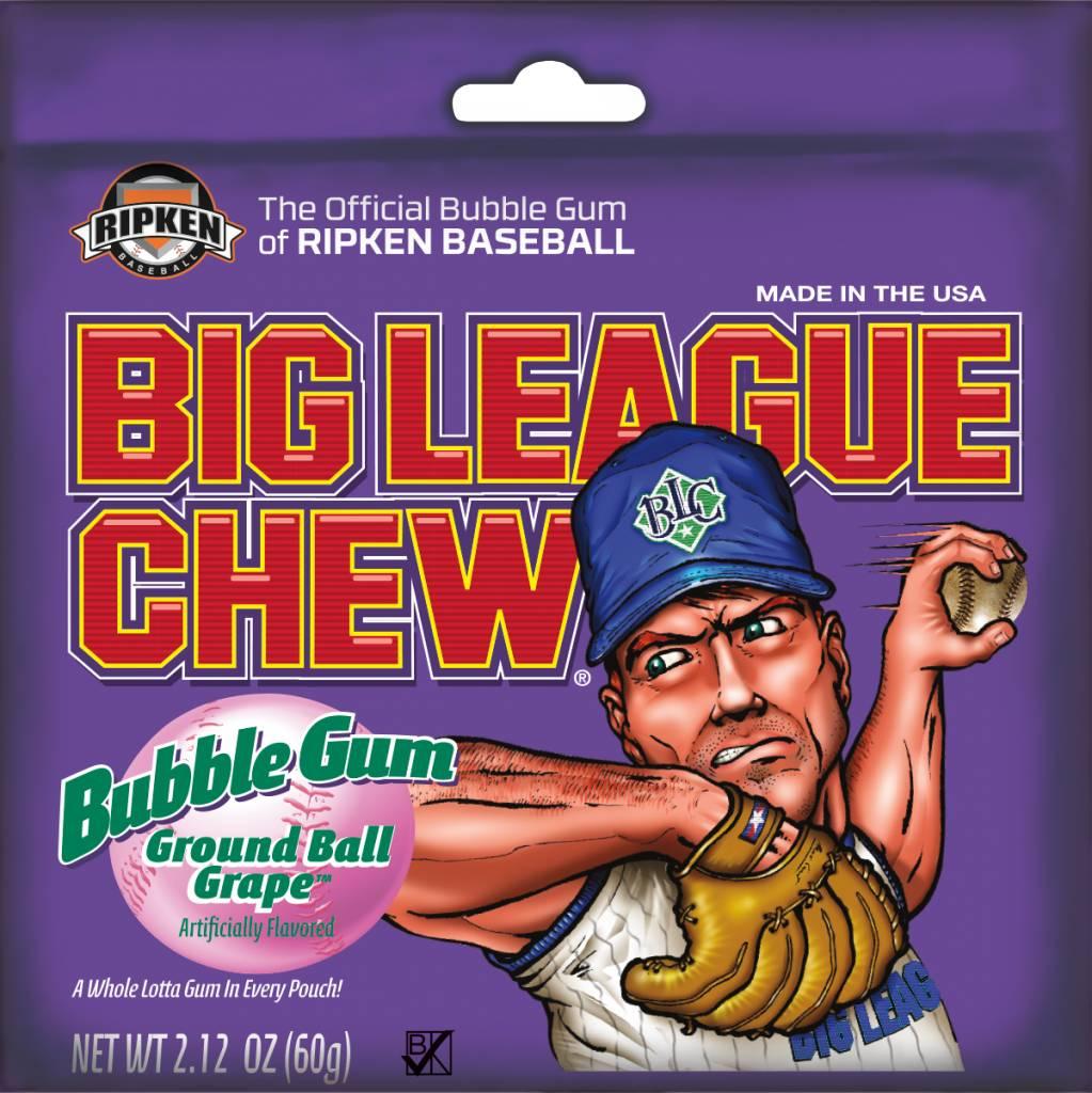 Big League Chew, Grape 12ct. Box