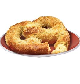 Soft Pretzel, Stuffed Jalapeno Cheese Lg. 24ct. Case