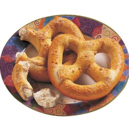 J AND J SNACK Soft Pretzel, Stuffed Cream Cheese Lg. 24ct. Case
