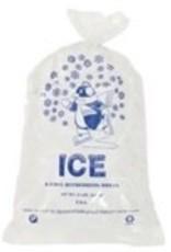 Bags, 10lb. Printed Ice Bags 100ct. Sleeve