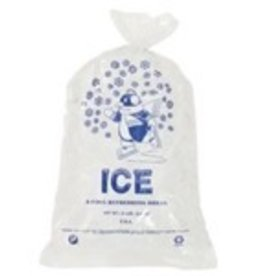 Package Containers Bags, 10lb. Printed Ice Bags 100ct. Sleeve