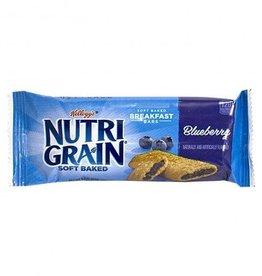 KELLOGG/KEEBLER COOKIE&CRACKER Nutri-Grain, Blueberry Cereal 8ct. Box