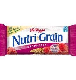 KELLOGG/KEEBLER COOKIE&CRACKER Nutri-Grain, Raspberry Cereal 8ct. Box