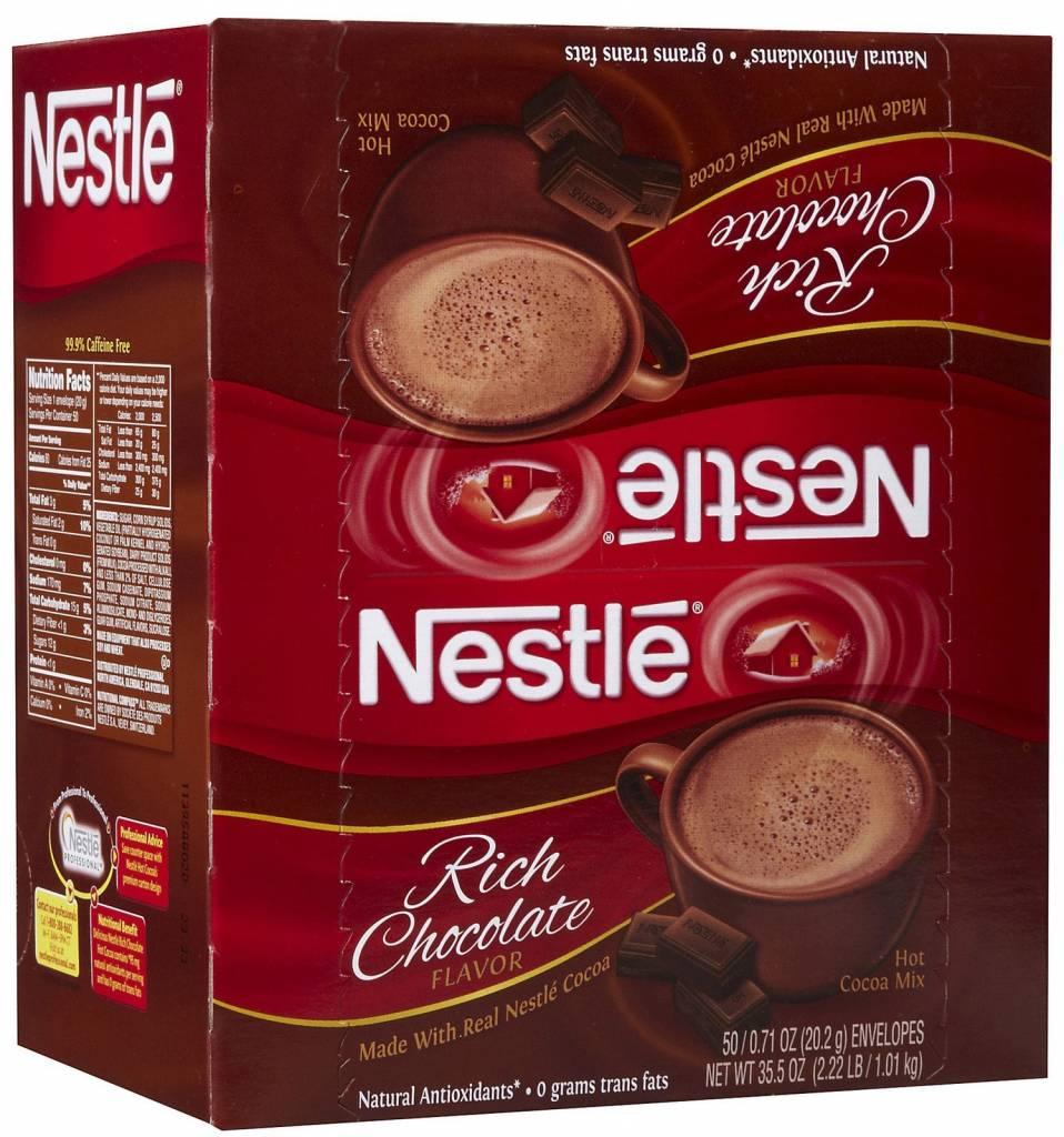 Hot Chocolate, Nestle Hot Cocoa Mix 6/50ct. Case