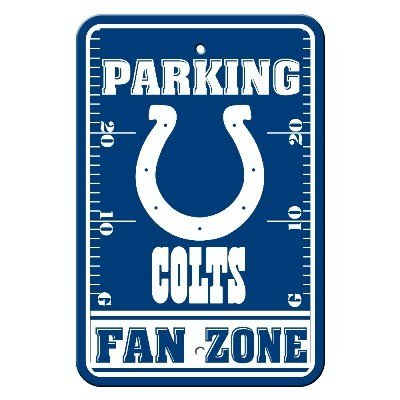 COLTS FAN ZONE PARKING SIGN