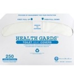 Toilet Seat Cover, Health Gards Toilet Seat Cover 250ct. Box