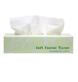 Nova2 Tissue, 2-Ply Facial Tissue 30/100ct. Case