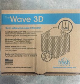 Wave 3D Urinal Sceens, Wave 3D Mango 10ct. Case
