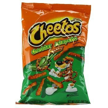 FRITO-LAY/LARGE SINGLE SERVE Cheetos Cheddar Jalapeno, LSS 64ct. Case