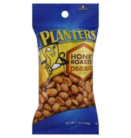 Planters, Honey Roasted Peanuts 12/6oz.