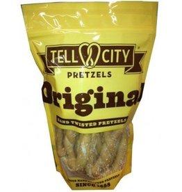 Tell City Tell City Pretzel, Large Twisted Original Salt 12oz